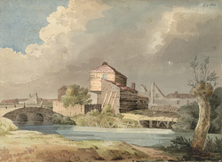 Cottages near Grove Street, Deptford, 1817